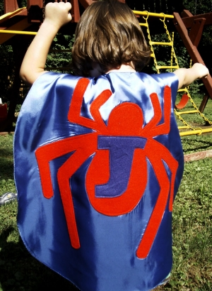 custom kids capes,superhero costumes,spider cape,