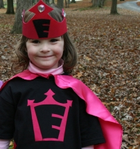 Girls Superhero Princess Costume