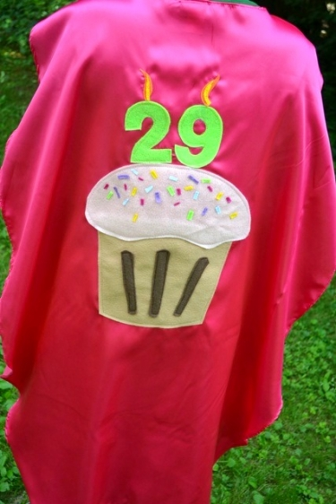 adult birthday gift, birthday cape,30th birthday gift