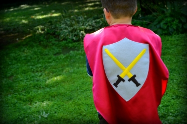 knights cape,medieval costume, medieval costume for kids