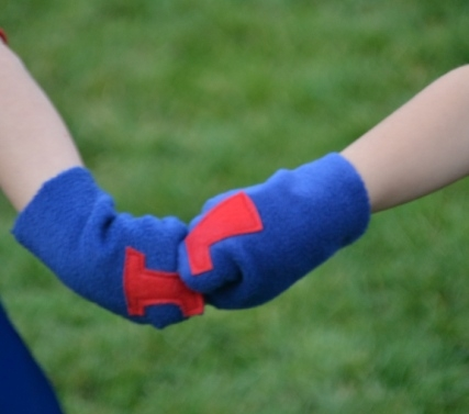 superhero,superhero gloves,superhero cuffs,costume