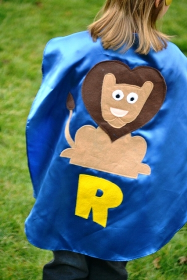 lion,kids cape,lion costume,kids superhero lion