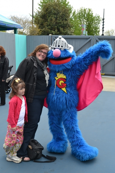sherry aikens,supergrover,sesame place blogger day