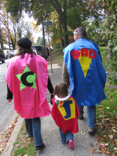 superhero,superhero family,trick or treat